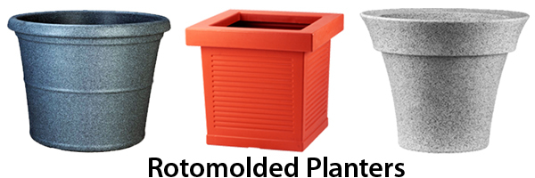 rotomolded planters