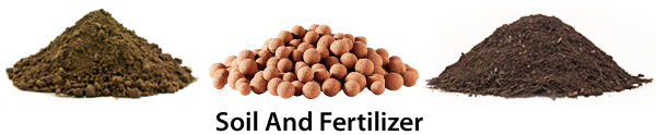 Soil and fertilizer